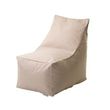 Beige Beanbag Chair Cover