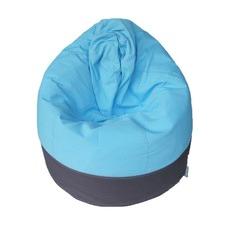 Cocoon Aqua & Charcoal Beanbag Cover