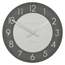 Graphite Townhouse Wall Clock