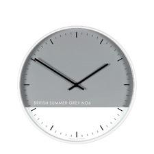 Eden British Summer Grey Clock