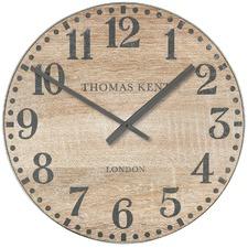 Wharf Soaped Oak Wall Clock 76 cm