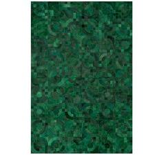 Green Optico Rug