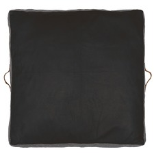 Square Leather Floor Cushion
