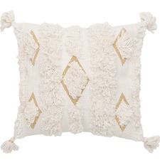 Cream Emerson Cotton Cushion