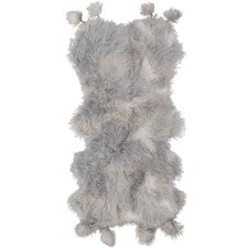 Smoke Fluffelbuster Faux Fur Throw