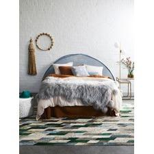 Fog Blue Panama Cushion