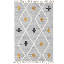 Grey Odetta Cotton Rug