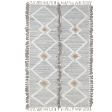 Grey Tembo Cotton Rug