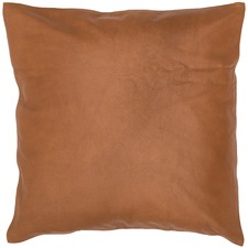 Luxury Plain Leather Cushion