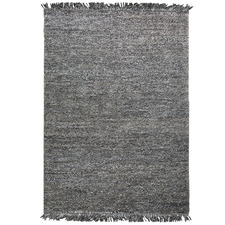 Charcoal Karma Weave Wool-Blend Rug