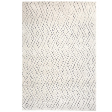Cream Rebel Weave Wool-Blend Rug