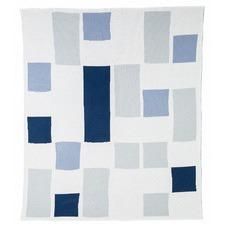Ella Blue Baby Blanket