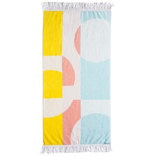 Uniform Kids Gold Finch Multi Beach Towel