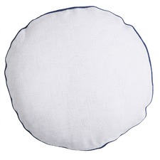 Circle Cloud Linen Cushion
