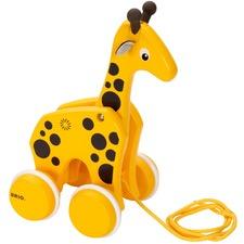 Pull Along Giraffe Toy
