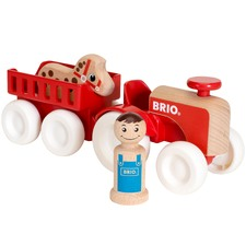 Farm Tractor Toy Set
