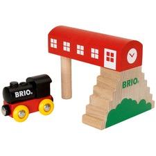 Classic Bridge Station Toy Set