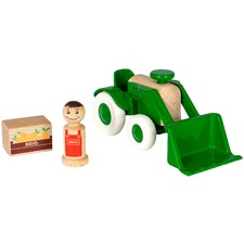 Tractor with Loader Toy