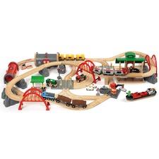 Deluxe Railway Toy Set