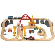 Cargo Railway Deluxe Train Toy Set