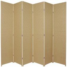 Tall 6 Fold Room Divider