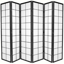 6 Panel Zen Room Divider Screen