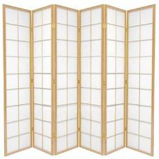 6 Panel Zen Room Divider Screen