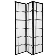 3 Panel Cross Room Divider Screen