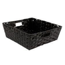 Kaia Woven Rattan Storage Basket