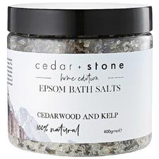 Cedarwood & Kelp Epsom Bath Salts