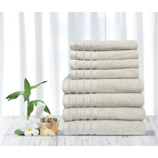 Merry Cotton Bathroom Towels (Set of 8)
