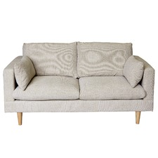 Silas Sand 2 Seater Sofa