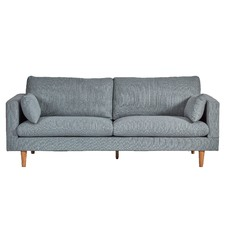 Light Grey Silas 3 Seater Sofa