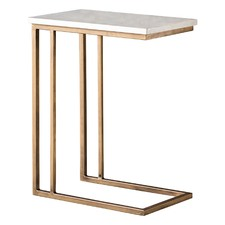 Halsey Marble Side Table