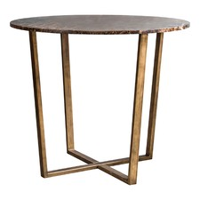 Nala Round Marble Dining Table
