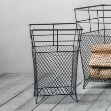 Upton Metal Storage Basket