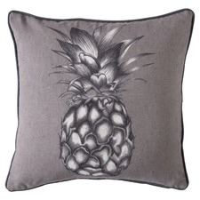 Lance Monochrome Pineapple Linen Cushion