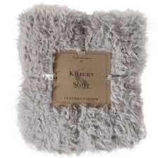 Howie Lined Sherpa Faux Fur Throw
