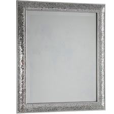 Crackled Lawrence Mirror