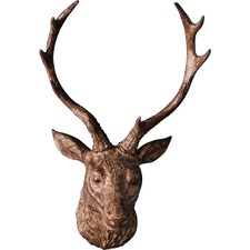 Ambrose Resin Stag Head