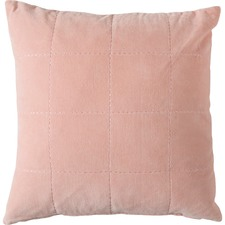 Kirkby Stabstitch Velvet Cushion