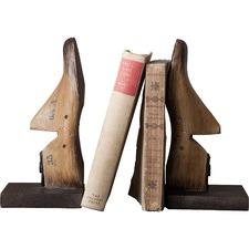 Arthur Vintage Style Shoe Mold Bookends