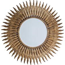 Metallic Quill Mirror