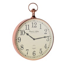 Copper Armstrong Wall Clock