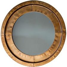 Moorley Round Metal Mirror