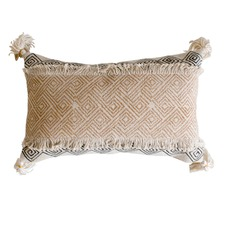 Ochre Hansa Cotton Cushion