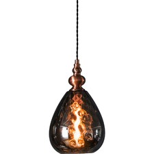 Pedrera Smoked Glass Pendant Light