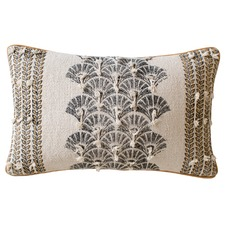 Sandy Printed & Embellished Cushion