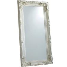 Carved Lawrence Leaner Mirror