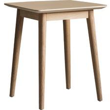 Manny European Oak Side Table